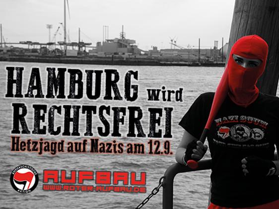 HAMBURG wird RECHTSFREI!