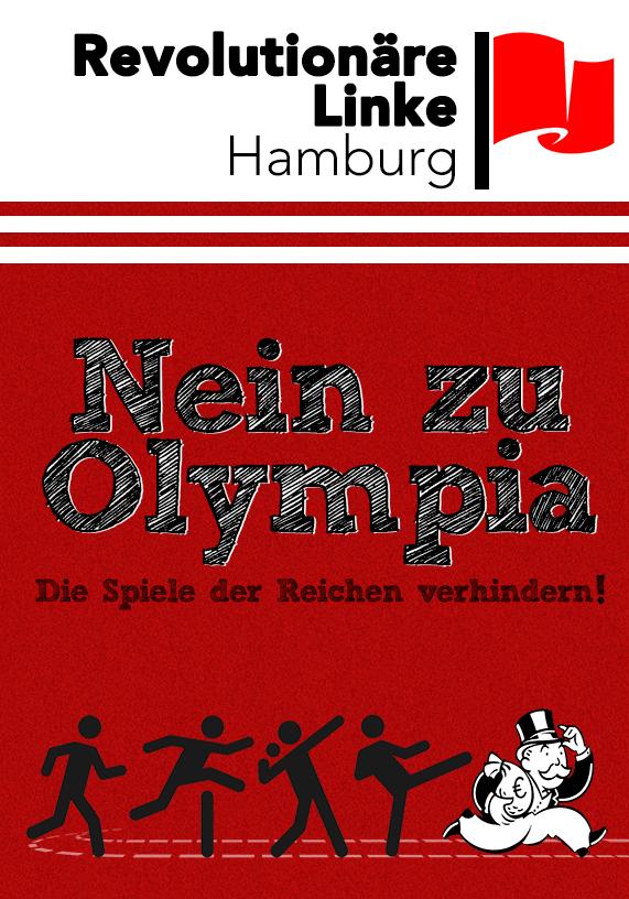 Broschüre gegen Olympia von der Revolutionären Linken