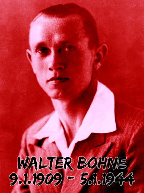 Walter Bohne – Gemeinsam gedenken – Gemeinsam kämpfen!