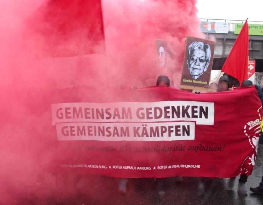 """LLL Demonstration 2017 – ,,Gemeinsam Gedenken, Gemeinsam Kämpfen"""""""
