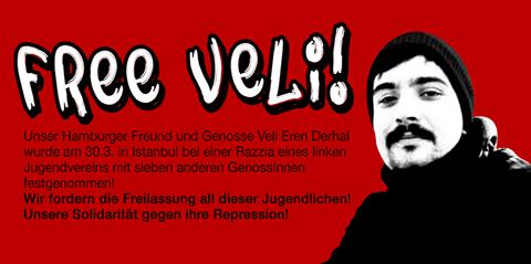 Freiheit für die Mitglieder der Dev-Genc Europa!