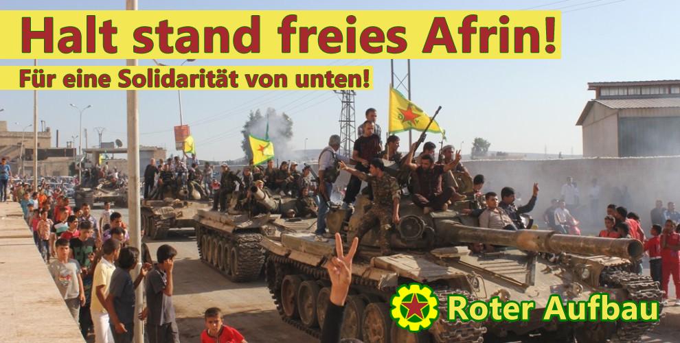 Halt stand freies Afrin!