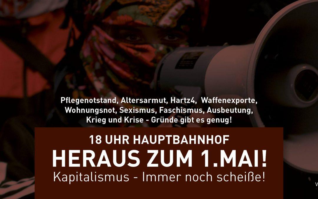 Heraus zum 1.Mai! 18 Uhr – Hamburg Hauptbahnhof